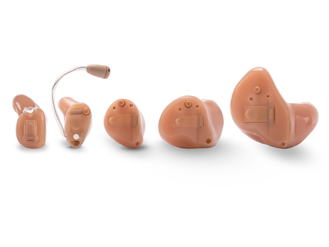 Customs fit hearing aid